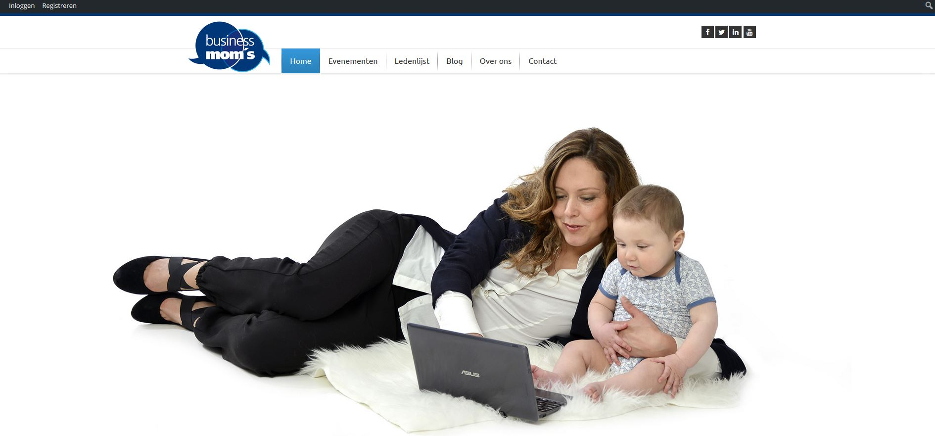 BusinessMoms - homepage