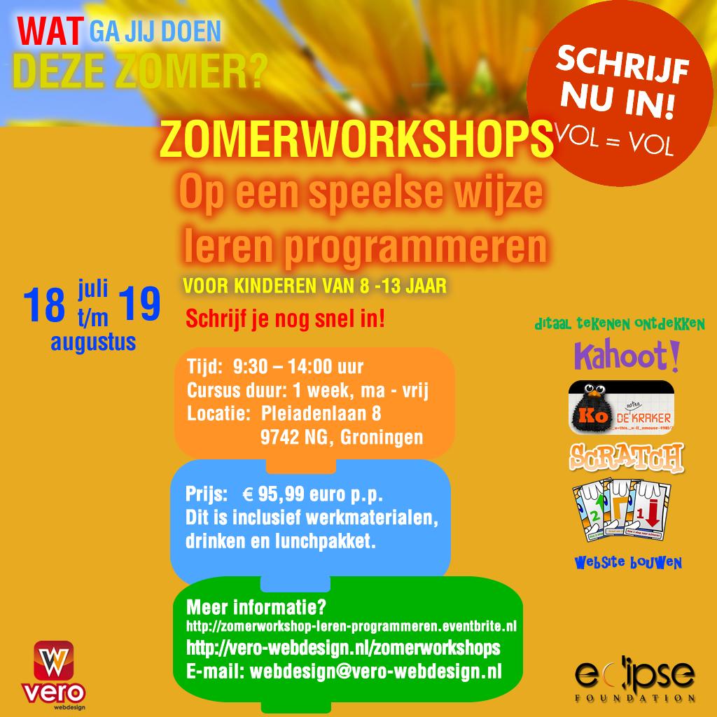 zomerworkshops-Groningen